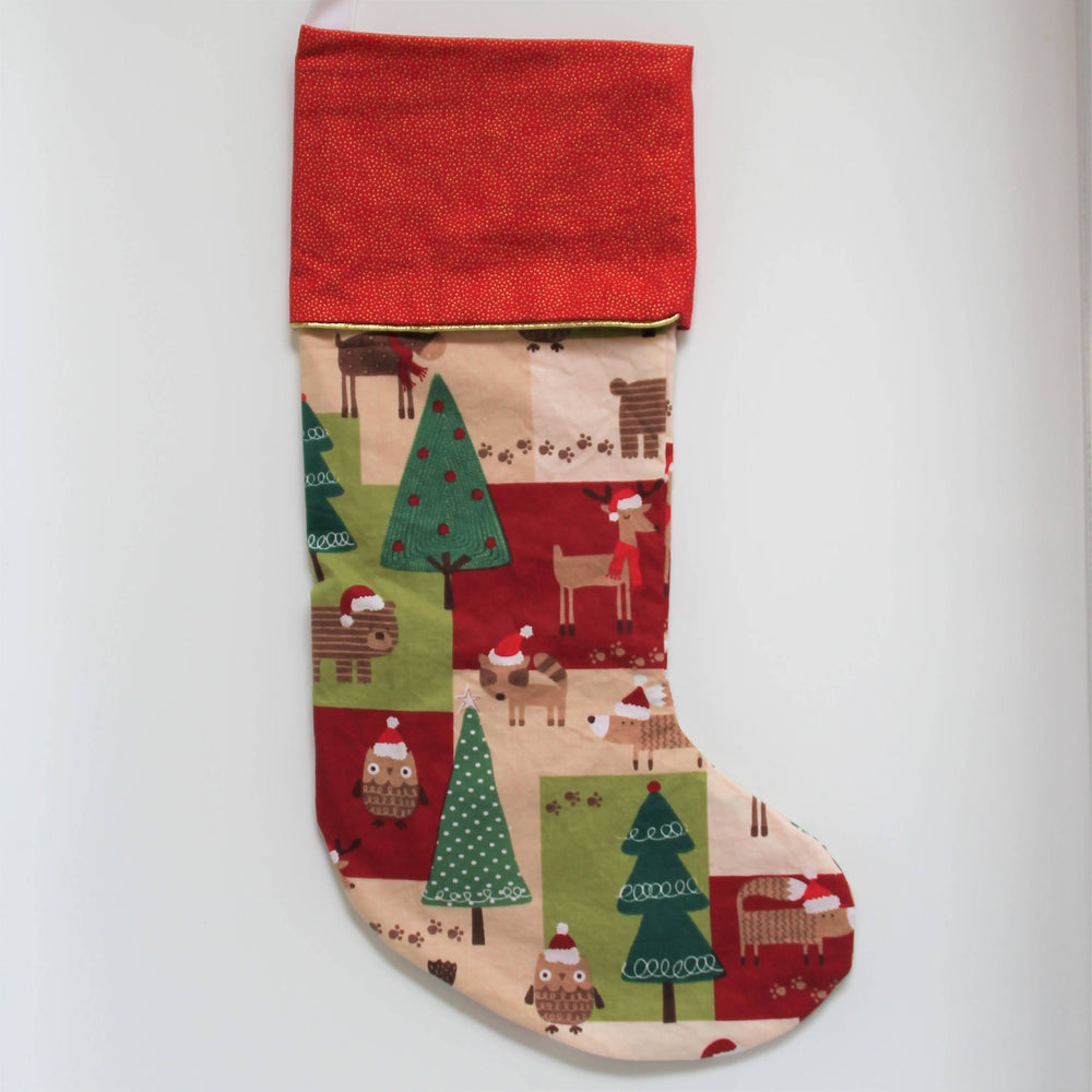 Christmas Critters | Christmas Stocking-Christmas Stocking-The Red Road Collective