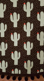 Pretty fly for a cacti| Weatherproof backing |Play/Picnic mat-Picnic blanket |Play mat-The Red Road Collective
