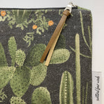 Scattered Four Winds - Handmade Clutch Cacti Dark-Small Clutch - Cacti Dark-The Red Road Collective