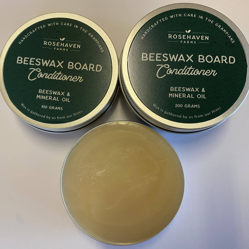 Rosehaven Board Conditioner - 100g-Beeswax-The Red Road Collective