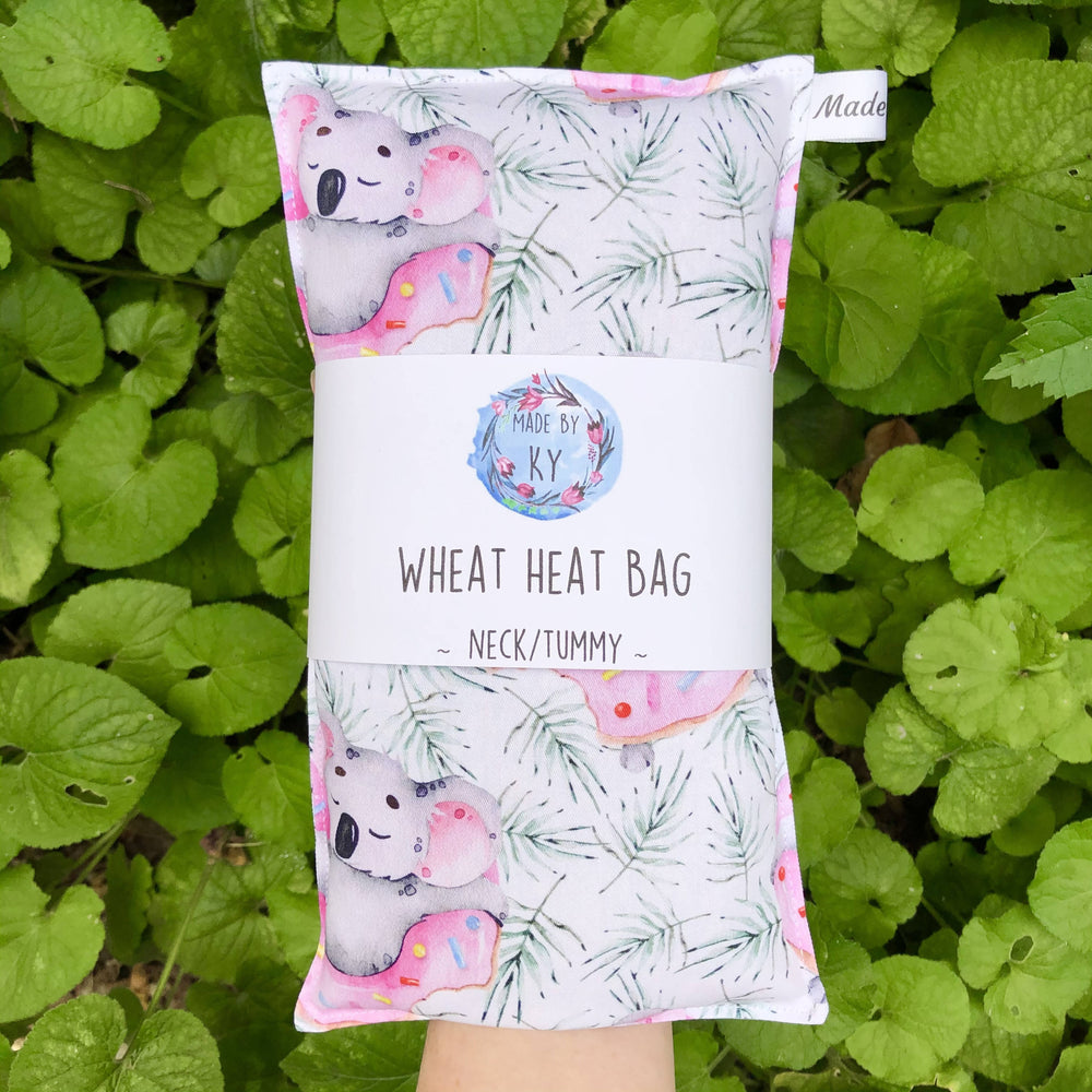 Wheat Heat Bag - Koala's Chillin in Doughnuts - Regular-Wheat heat bag-The Red Road Collective