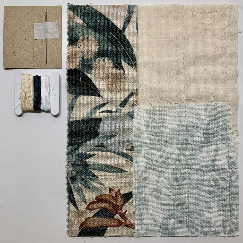 Slow Stitching Kit I Morning Forest - The Red Road Collective