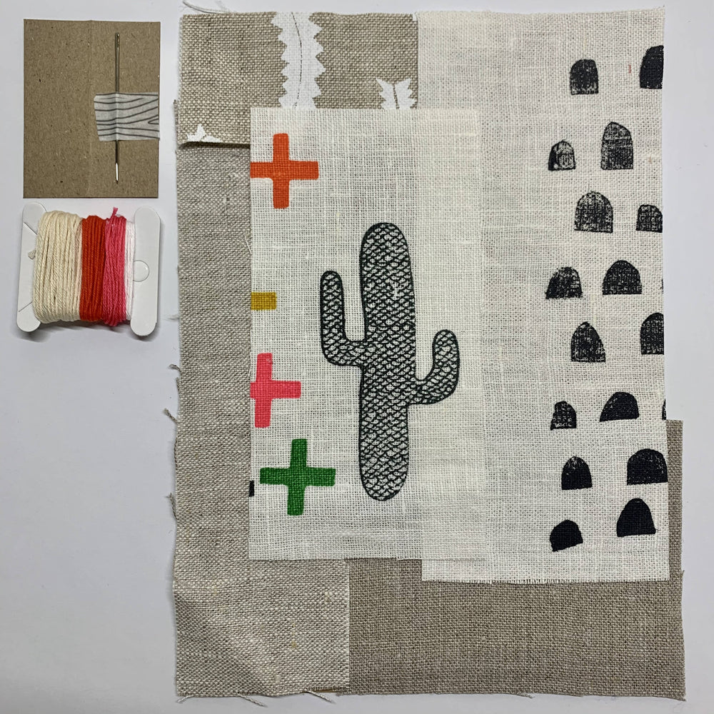 Slow Stitching Kit I Doops Cactus 1