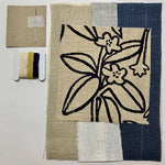 Slow Stitching Kit I Frangipani - The Red Road Collective