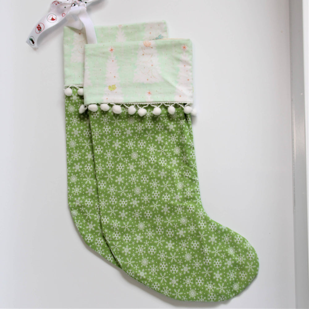 Snowflakes | Christmas Stockings