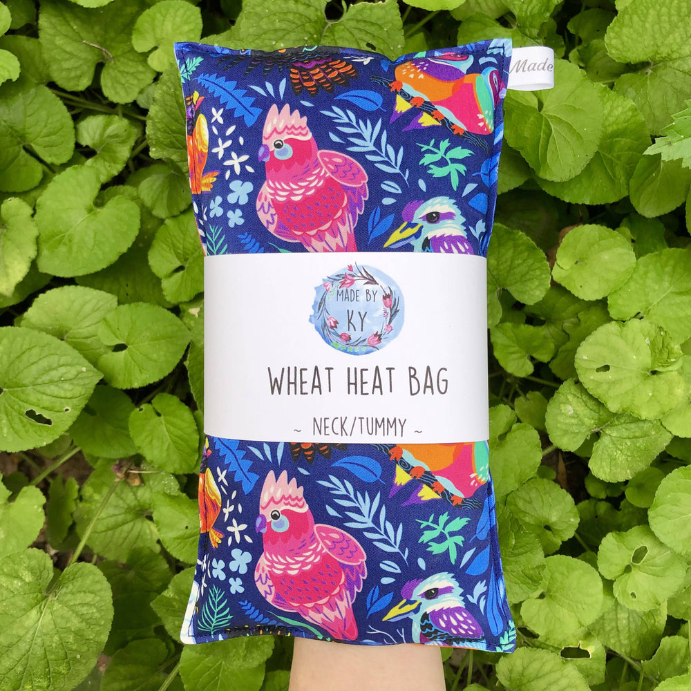 Wheat Heat Bag - Aussie Birds - Regular