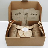 Greenery Lane | Spring / Summer Seed Growing Kit-Seed Kit-The Red Road Collective