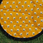Bees | Cotton Backing |Play mat