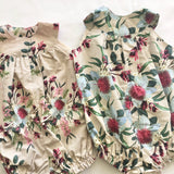 Ready to Post | 6-12M Romper | Derry Downs Handmade-The Red Road Collective
