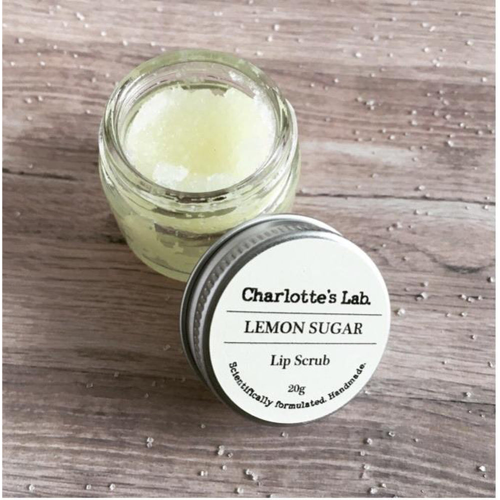Lip Scrub-Lemon Sugar-Charlotte's Lab-The Red Road Collective