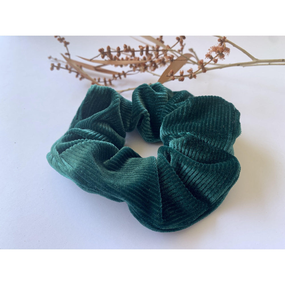 Scrunchie-Jade Velvet-Scrunch it by G-The Red Road Collective
