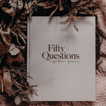 Fifty Questions | Baby Book
