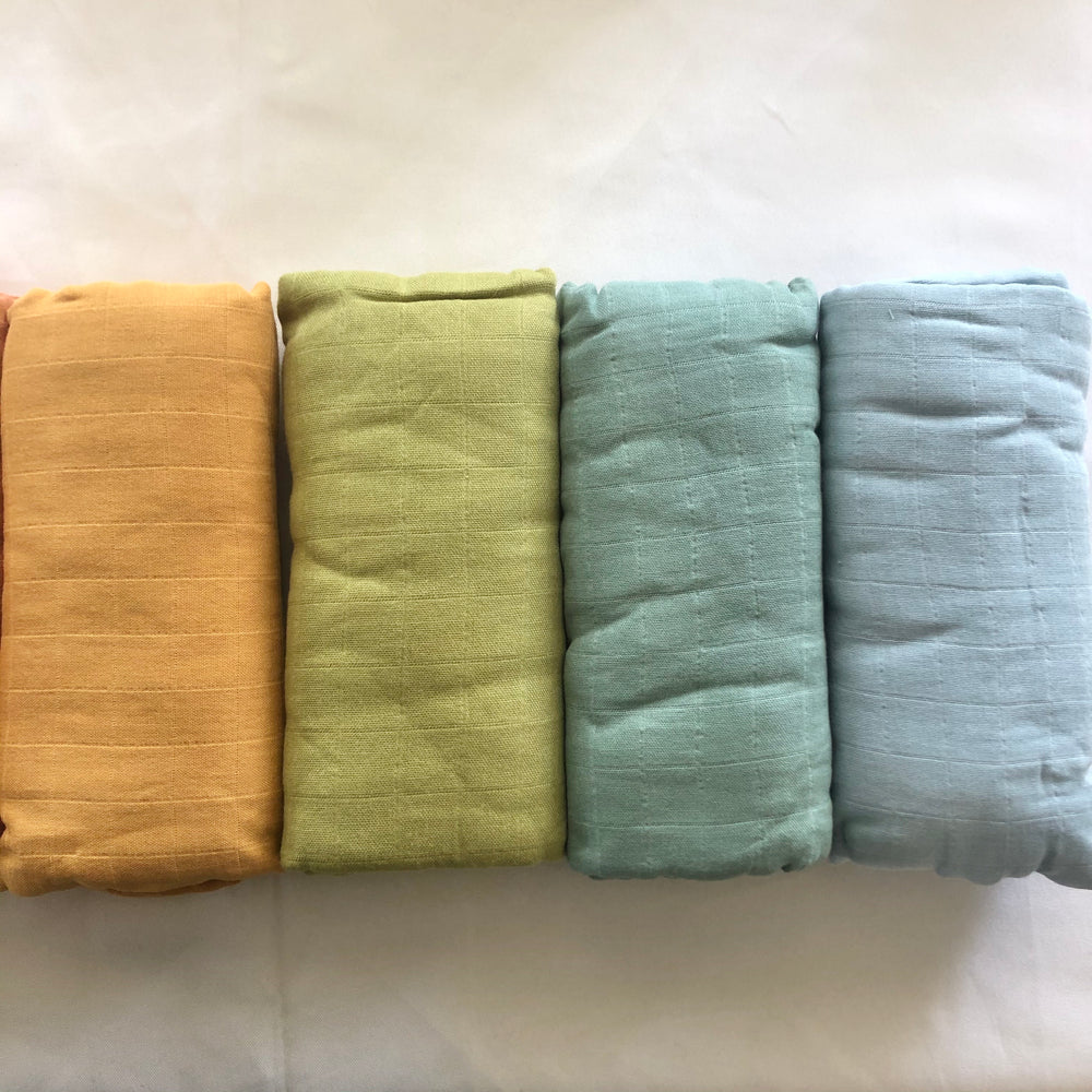 Bamboo Muslin Wrap-Bamboo Muslin Wrap-The Red Road Collective