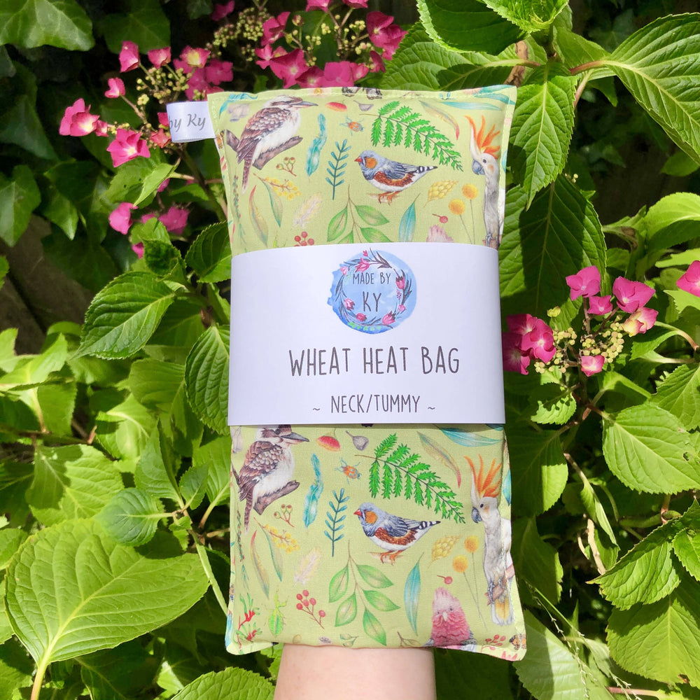 Wheat Heat Bag - Aussie Bush Green - Regular - Exclusive