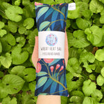 Wheat Heat Bag - Flowering Gum Navy - Mini-Wheat heat bag-The Red Road Collective