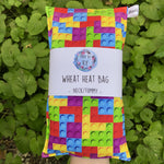 Wheat Heat Bag - Lego - Regular-Wheat heat bag-The Red Road Collective