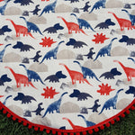 Dino | Cotton Backing |Play mat