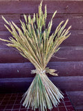 Decorative Grain Bundle with Braid Tie