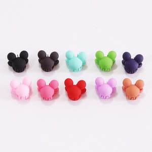 10PCS/Lot New Korean Fashion Girls Small Hair Claw Cute Candy Color Hair Clip