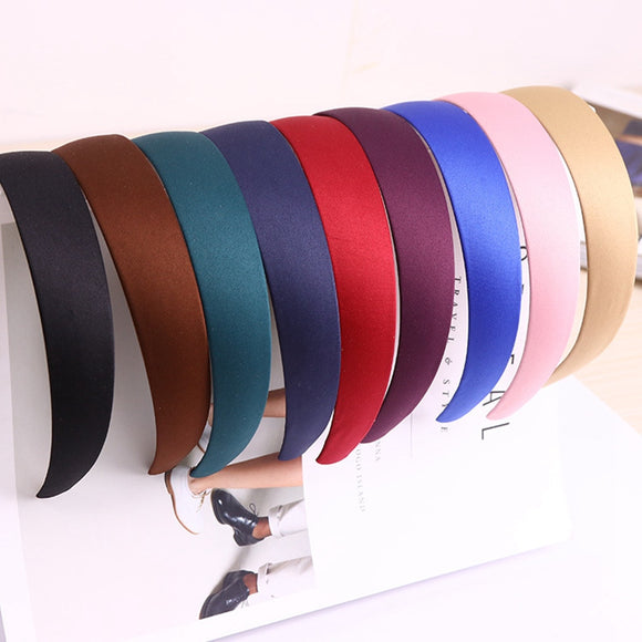 Hot Sale 2017 New Arrival Women Hair Bands Fashion Solid Designers Women's Hair Accessories