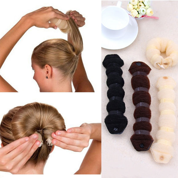 New Fashion Hair Tools Magic Quick Bun Make Hair Styling Long Headbands