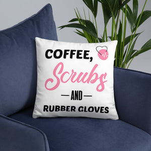 """Scrub Life"" Pillow"