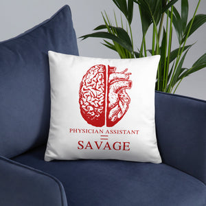 """Savage"" Pillow - Mentoring In Medicine Co."