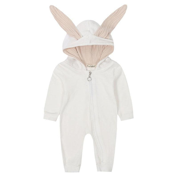 Handmade Baby Bunny Romper - Project Lvl