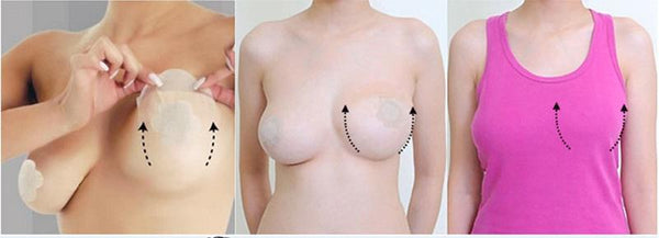 Boob Tape Bra Breast Lift Adhesive Invisible Stickers