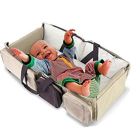 3-in-1 Portable Crib (Bassinet, Changing Table, Diaper Bag) - Project Lvl Online Store