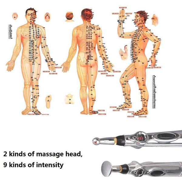 Acupuncture Pen Magnet Therapy Healing Meridian Energy - Project Lvl Online Store