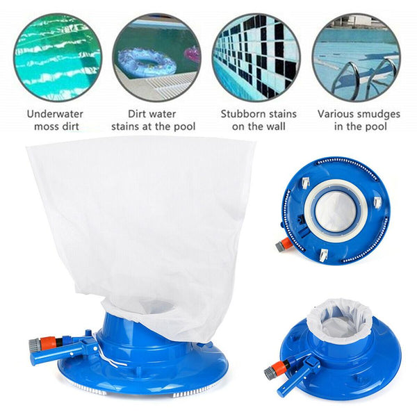 Swimming Pool Suction Leaf Vacuum Head Brush Cleaner Above Ground Cleaning Tool Pool Suction Head Pool Accessories For Spa Pond - Project Lvl Online Store