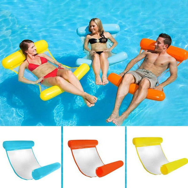 Floating Water Hammock Float Lounger Floating Toys Inflatable Floating Water Pillow Swimming Pool - Project Lvl Online Store
