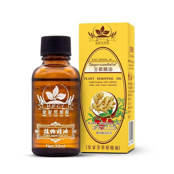 Project Lvl Online Store 16080702 1pc Pain Relief Herbal Oil Ginger