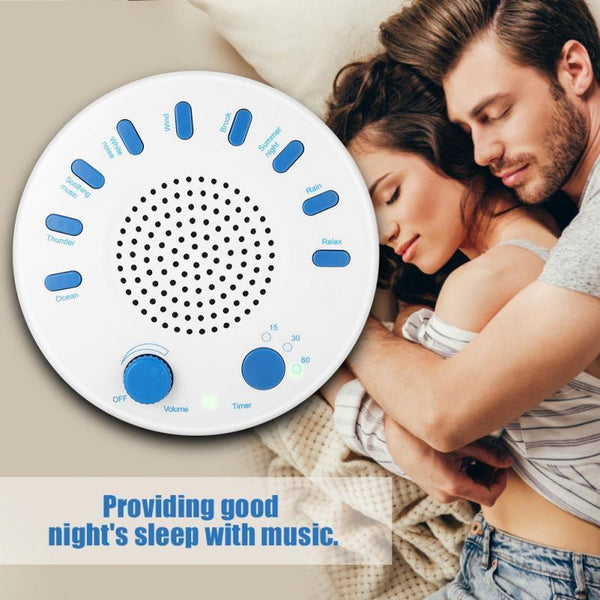 Project Lvl Online Store 200001359 Sound Therapy Spa Relaxation Soothing Aid 9 White Noise Sleep Easy Conditioner Machine for Sleep