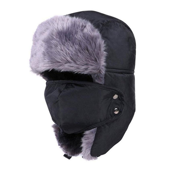 Winter Thermal Fur Hat Windproof Mask - Project Lvl Online Store