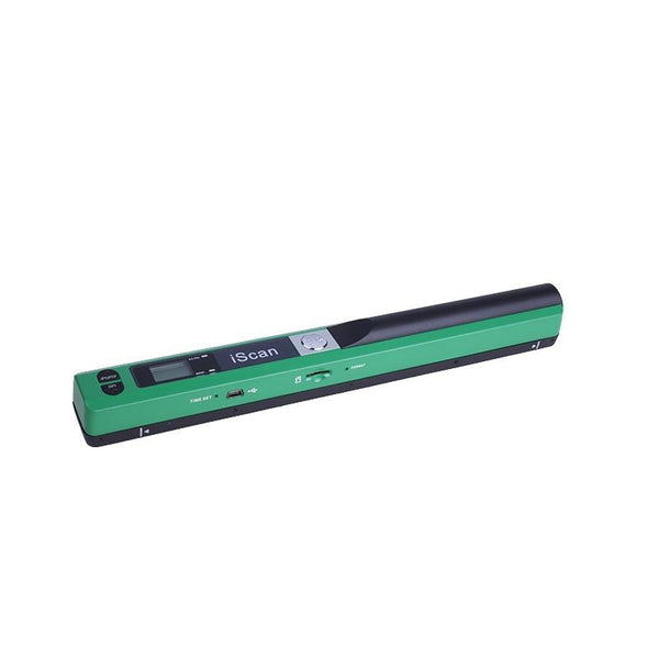 Project Lvl Online Store 200003332 green iScan Mini Portable Scanner 900DPI LCD Display JPG/PDF Format Document Image Iscan Handheld Scanner A4 Book Scanner