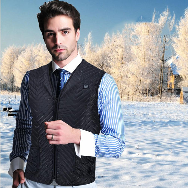 Project Lvl Online Store 200003368 2019 New Motorcycle Jacket Men USB Infrared Electric Heating Vest Waistcoat Thermal Clothing Winter Riding Jacket Chaqueta Moto