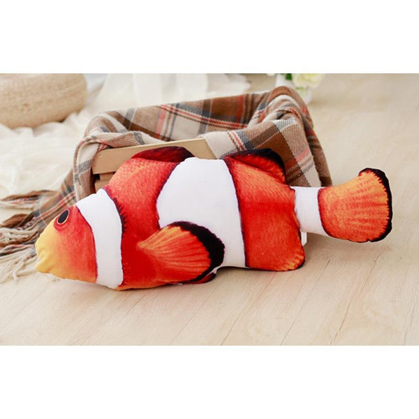 Fish-N-Nips™ Catnip Plush 3D Cat Toy - Project Lvl Online Store