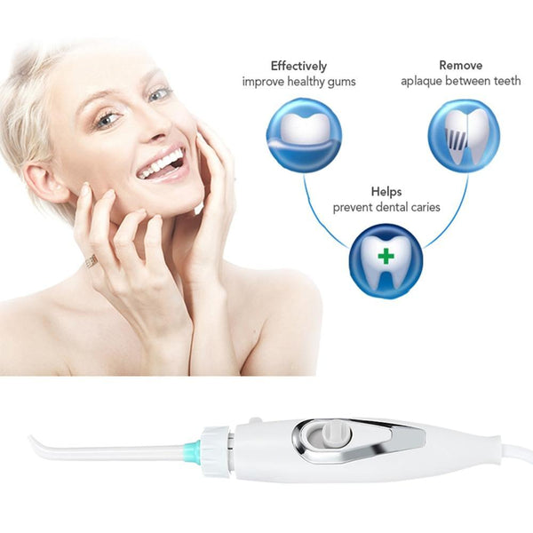 Dental Water Flosser, Water Irrigation Handheld Device - Project Lvl Online Store