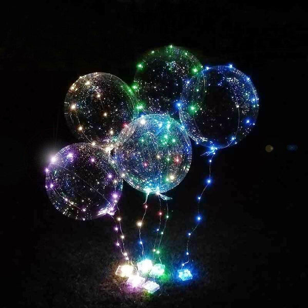 String LED Light Balloons (Set of 5) - Project Lvl Online Store