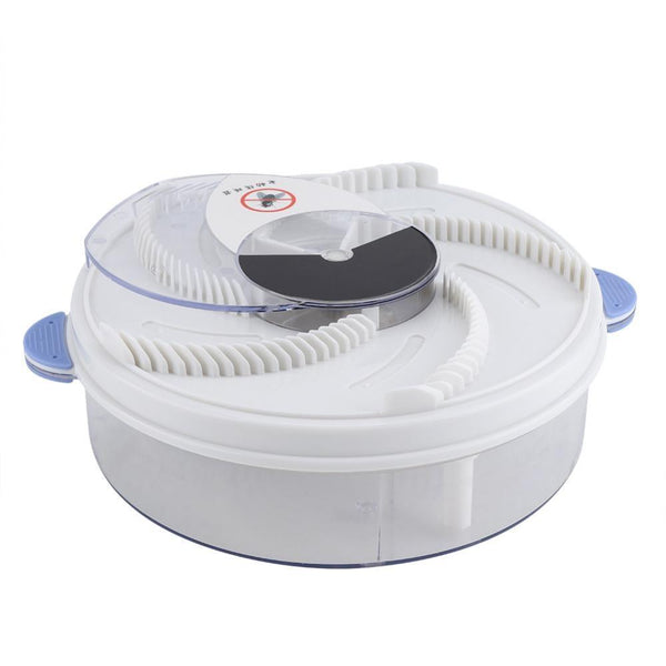 Fly Trap Device Electric Effective Pest Repeller With Trapping Food Rotating Plate - Project Lvl Online Store