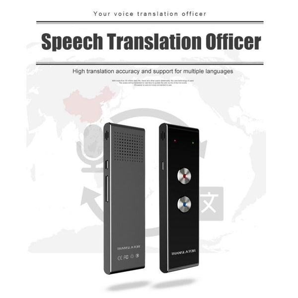 Portable Smart Speech Translator Two-Way Real Time 39 Multi-Language Translation For Learning Traveling Business Meetings - Project Lvl Online Store