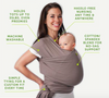 Soft and Stretchy Ergonomic Baby Wrap - Project Lvl