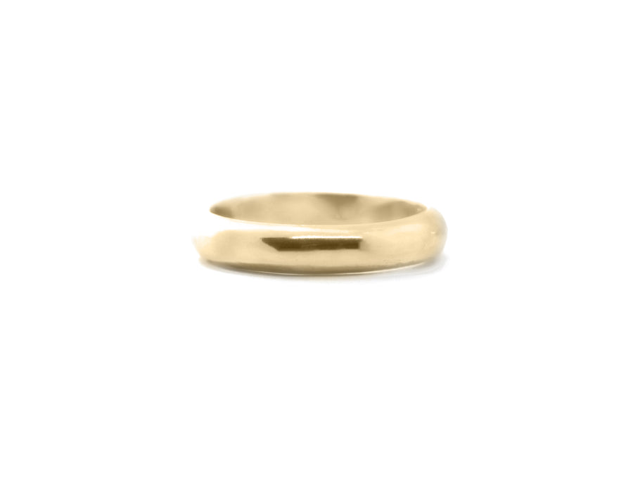 SIMPLE Mellem ring, guld - BY MARIA BUUR