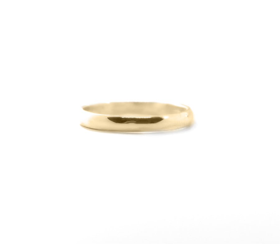 SIMPLE Lille ring, guld - BY MARIA BUUR