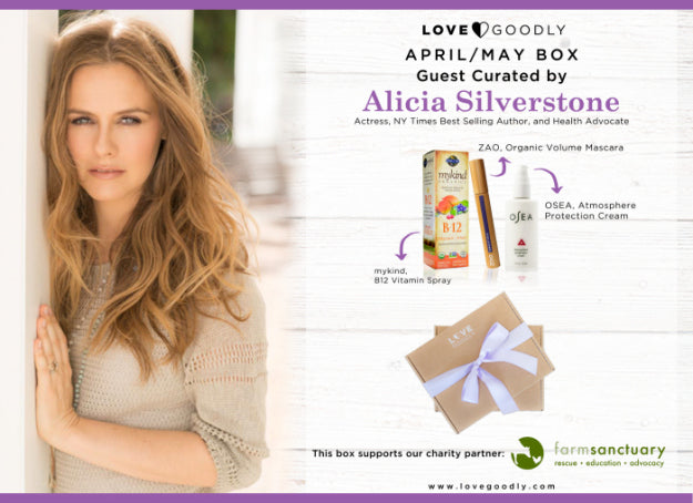 PRESS RELEASE: Alicia Silverstone Guest Curates For Earth Day