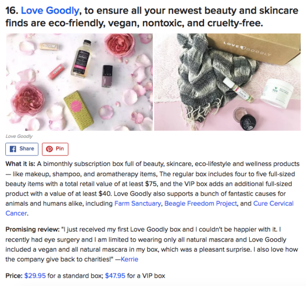 Buzzfeed ♥ LOVE GOODLY!