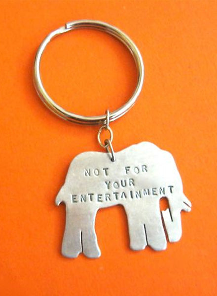 Exclusive Christy Robinson x LOVE GOODLY Elephant Keychain
