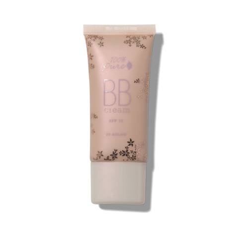 100% Pure BB Cream SPF 15 in Shade 20 Aglow
